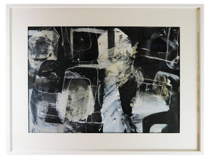 Clare Wardman, Artist, Abstract Painting Facade - the Art Hound Gallery