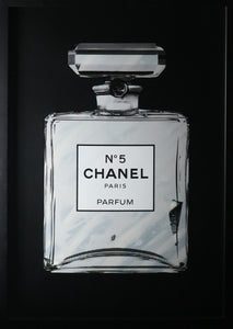 Simon Freeborough - Chanel No.5 Grey (Framed)