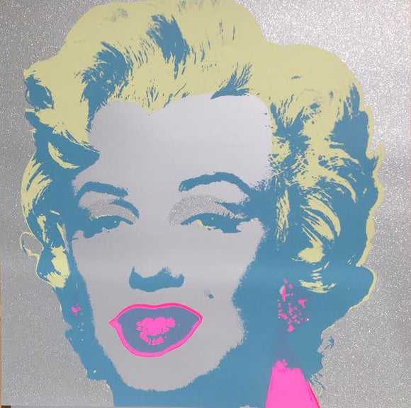 Andy Warhol / Sunday B Morning - Diamond Dust Marilyn