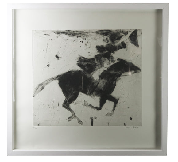 Kate Boxer - Dick Turpin Leaving For York (Framed)
