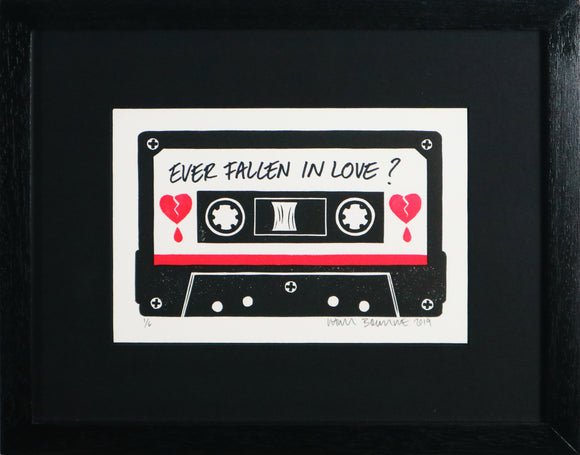 Chris Bourke - Ever Fallen In Love (Framed)