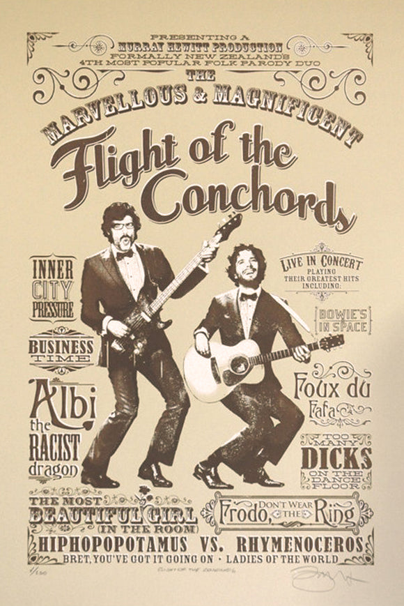 Barry D Bulsara - Flight Of The Conchords