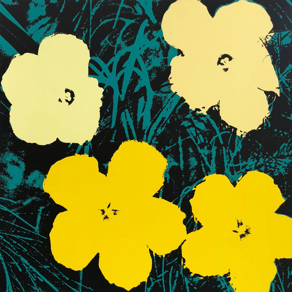 Andy Warhol / Sunday B Morning - 11.72: Flowers
