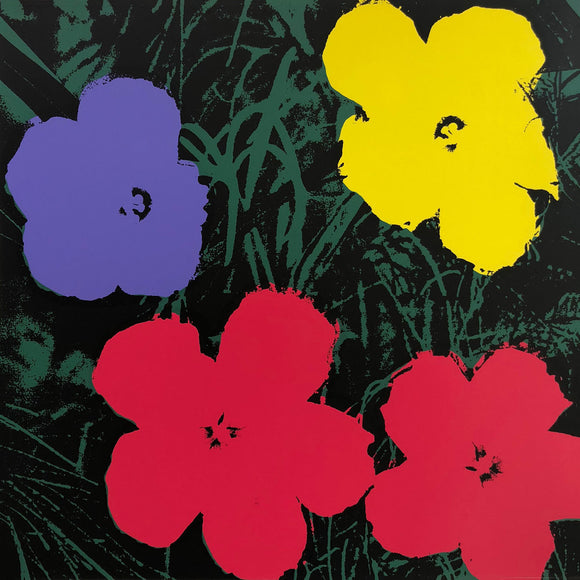 Andy Warhol / Sunday B Morning - 11.73: Flowers