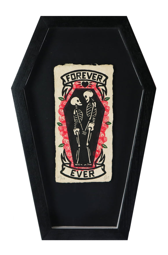 Chris Bourke - Forever Ever Roses (Unique Coffin Frame)