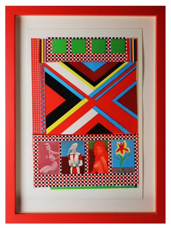 Eduardo Paolozzi - Part One, Frozen Terror...Part Two, Fangs of Death (Framed)
