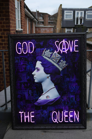 Illuminati Neon -  God Save The Queen (Neon)
