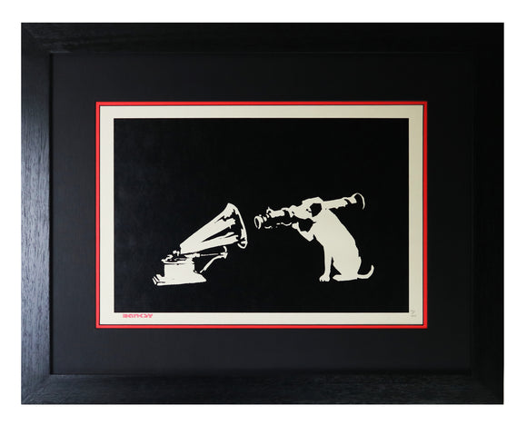 Banksy - HMV (Framed - NOT sold POA)