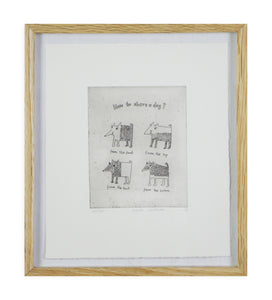 Basia Lautman - How to Shave a Dog (Framed)