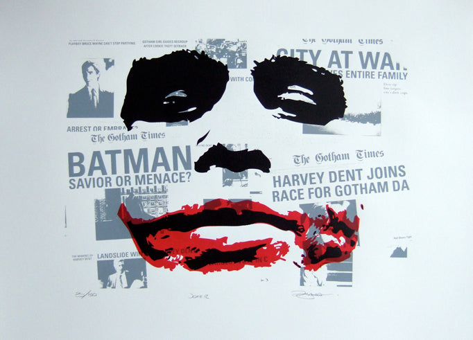 Barry D Bulsara - The Joker (Heath Ledger)
