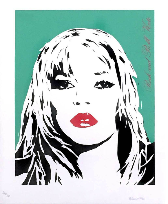 Bambi - Rock and Roll Kate (Kate Moss) (Green)
