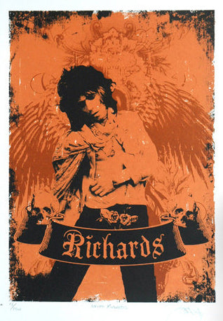 Barry D Bulsara - Keith Richards (Wings)