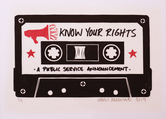 Chris Bourke - Know Your Rights
