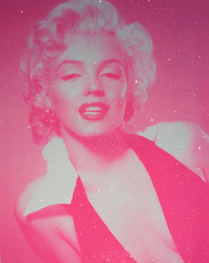 David Studwell - Marilyn Monroe - Candy Floss Pink - Diamond Dust