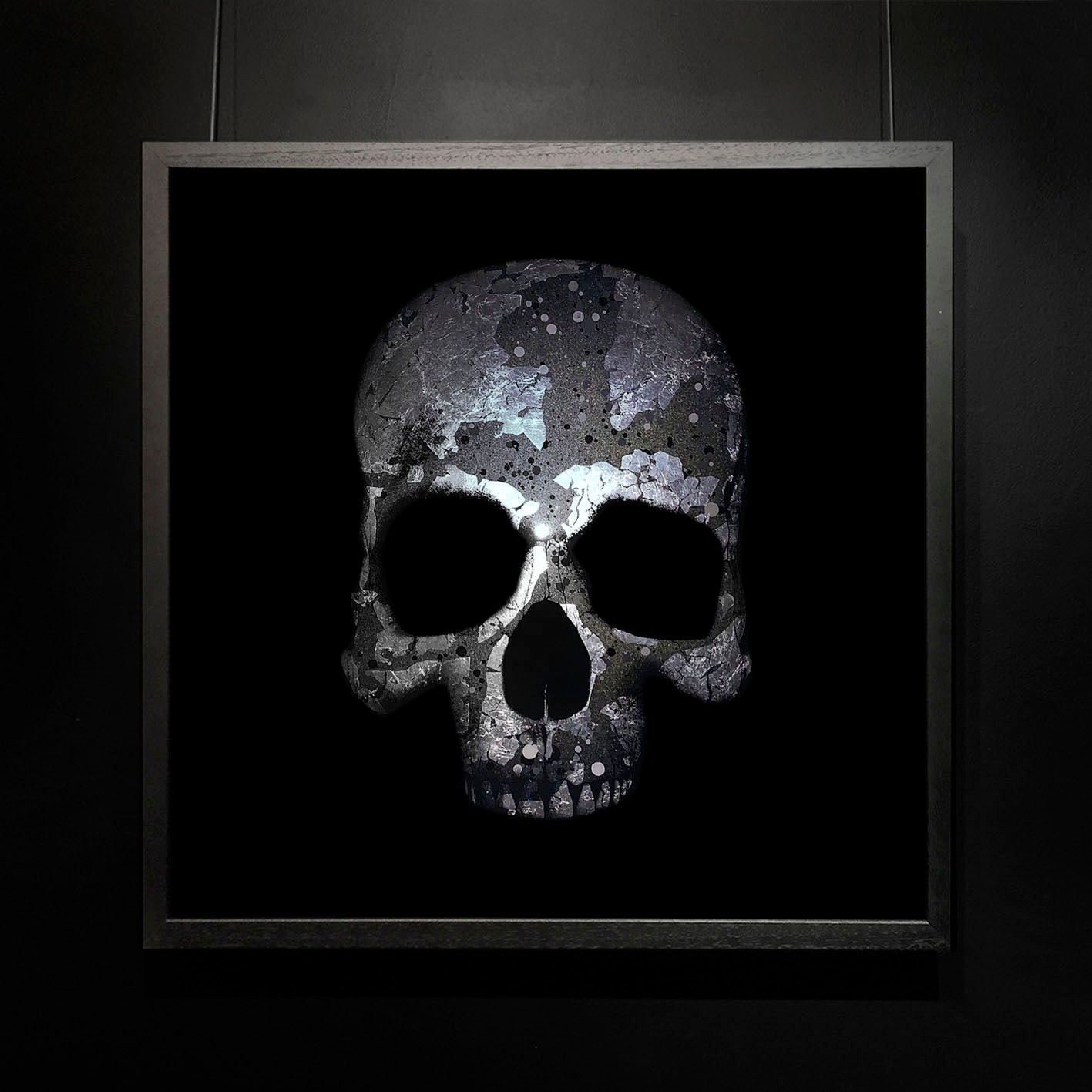 Mark Petty - The Architect of Extinction 2 - Silver Skull