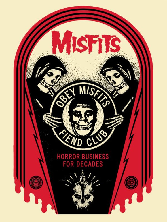 Shepard Fairey - Horror Business Tomb (Misfits)
