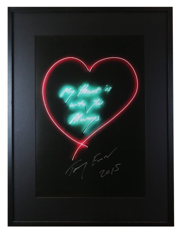 Tracey Emin - My Heart Is With You Always (Framed)