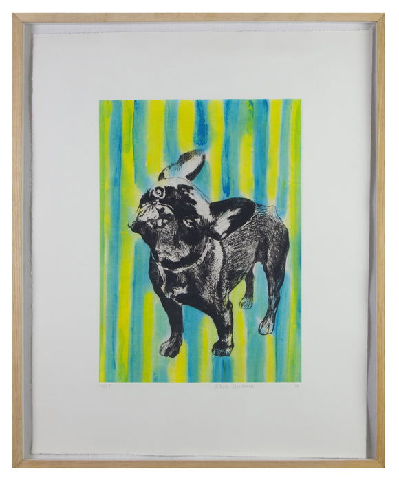 Basia Lautman - Naughty Bulldog (Framed)