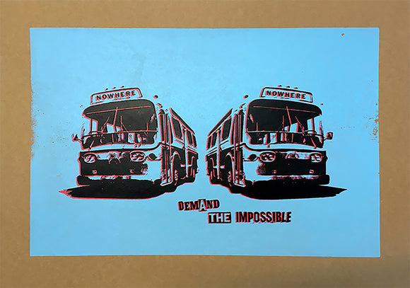 Jamie Reid - Demand The Impossible (Nowhere Buses - Blue)