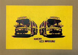 Jamie Reid - Demand The Impossible (Nowhere Buses - Yellow)