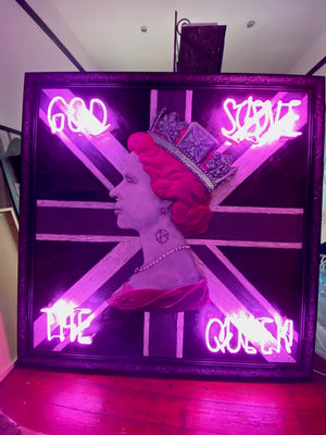 Illuminati Neon - Pink Anarchy Punk Queen