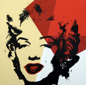 Andy Warhol / Sunday B Morning - 11.42: Golden Marilyn