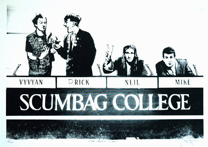 Barry D Bulsara - The Young Ones Scumbag College