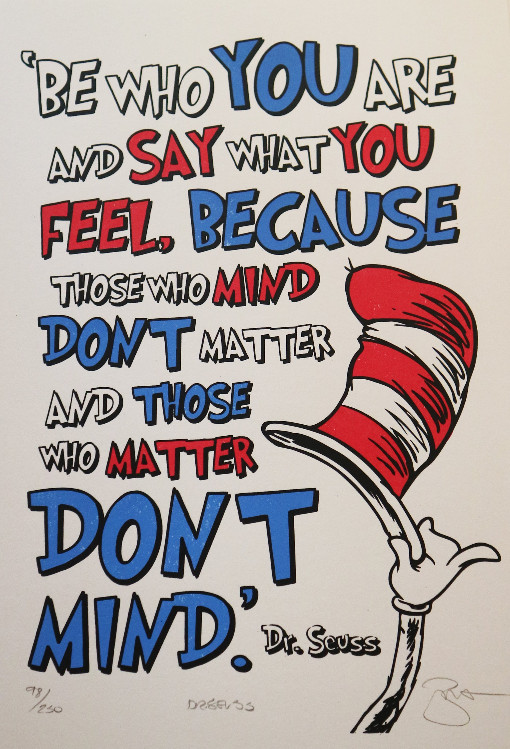 Barry D Bulsara - Dr. Seuss Say