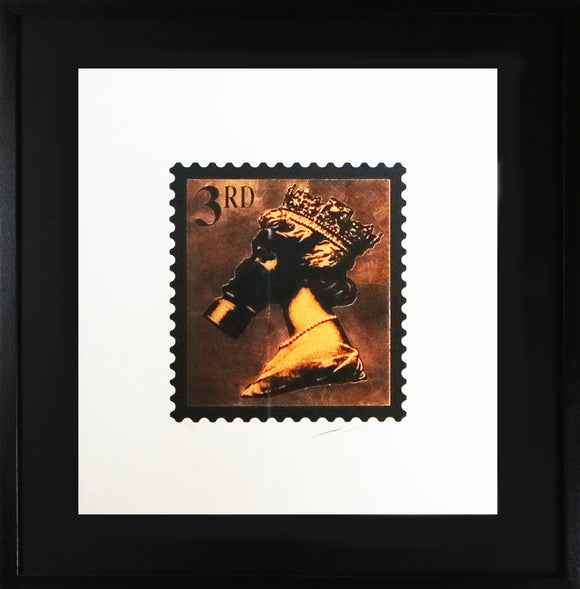 Jimmy Cauty - Stamps Of Mass Destruction 10 Years On Legacy Edition (Bronze) (Framed)