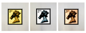Jimmy Cauty - Stamps of Mass Destruction 10 Years On Legacy Edition (Bronze, Silver and Gold Set)