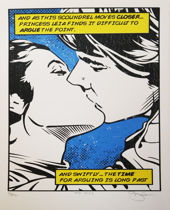 Barry D Bulsara - Han and Leia 'The Kiss'