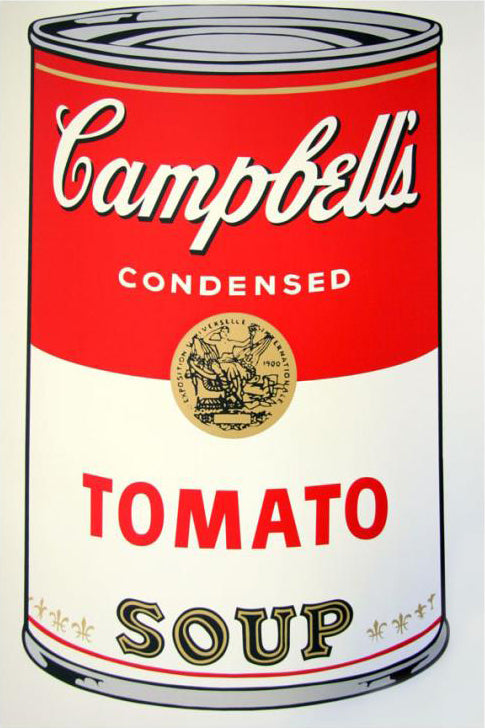 Andy Warhol / Sunday B Morning - Campbell's Soup Can, Series 1, Tomato