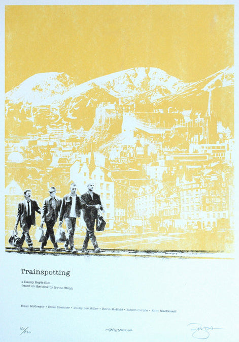 Barry D Bulsara - Trainspotting v2