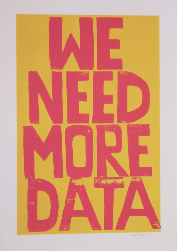 Alan Rogerson - We Need More Data
