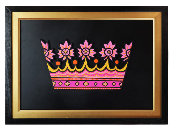 Alan Rogerson - Crown (Framed)