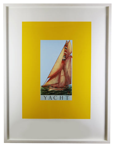 Peter Blake - Y is for Yacht (Framed)