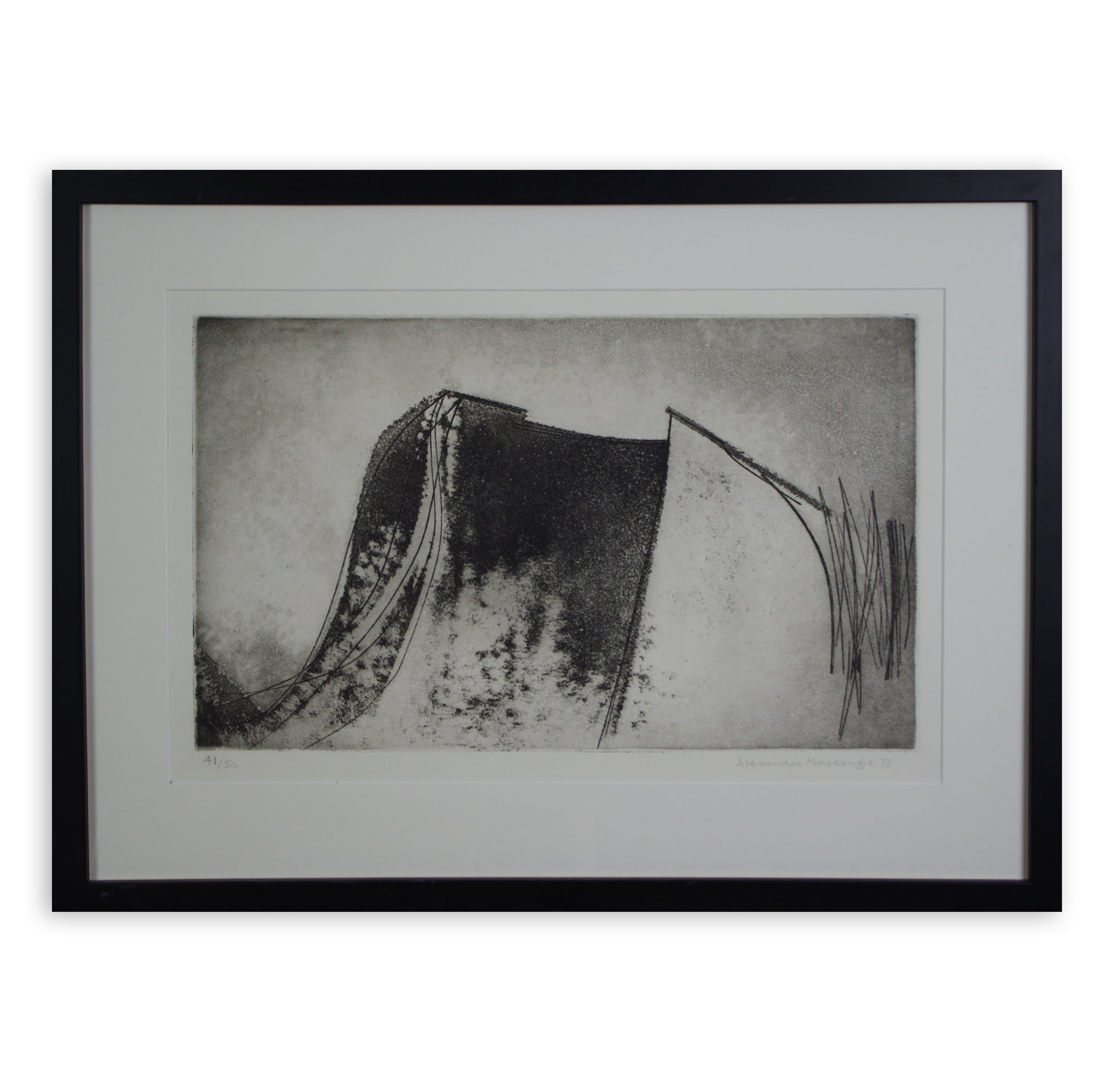 Alexander Mackenzie - Untitled Etching (Framed)