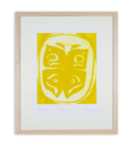 Alan Reynolds - Yellow Moth (Framed)