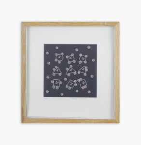 Basia Lautman - Untitled (Aquatint) (Framed)