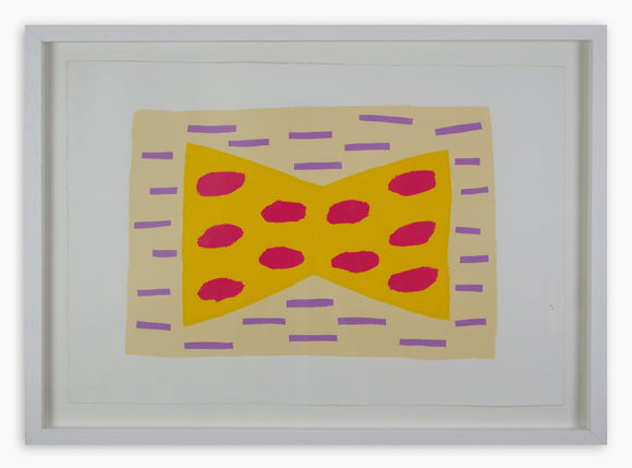 Breon O'Casey - Untitled Screenprint (Framed)