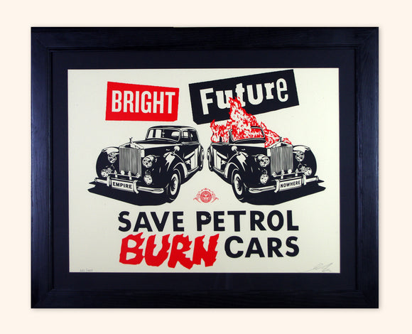Shepard Fairey /Jamie Reid - Bright Future (Framed)