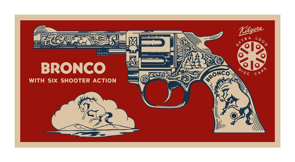 Terry Pastor - Bronco Six Shooter