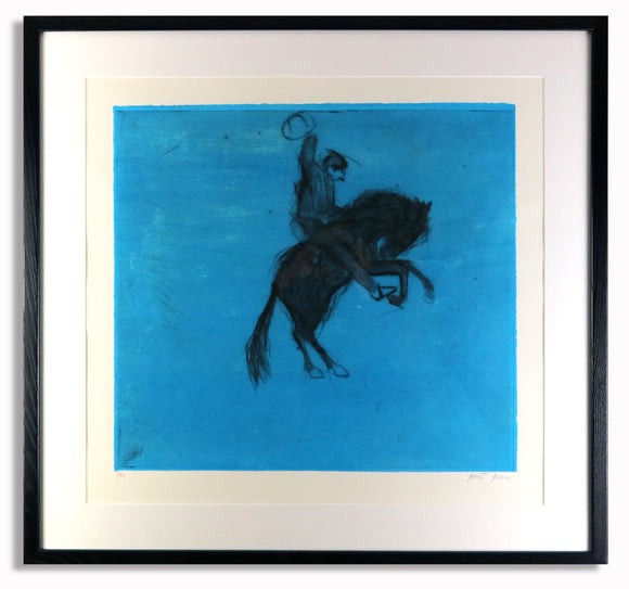 Kate Boxer - Bucking Bronco (Blue)