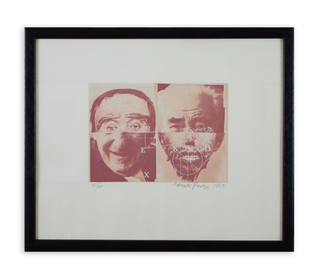 Eduardo Paolozzi - Death's Head (Framed)