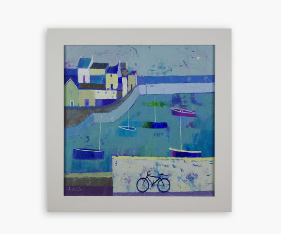Giuliana Lazzerini Coastal Journey (Framed) - Painting
