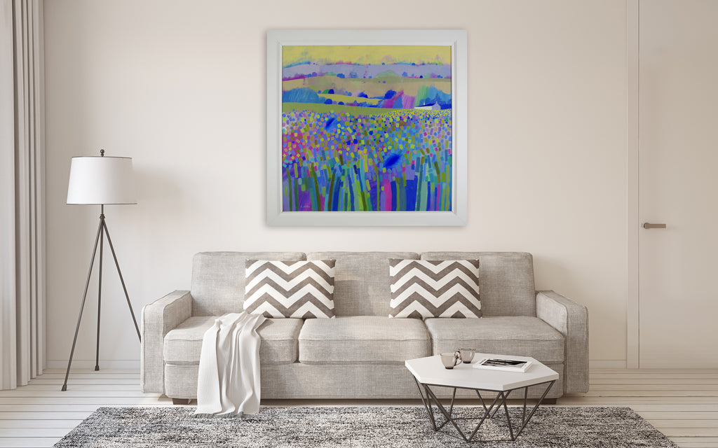 Giuliana Lazzerini - Dales Meadow (Framed)
