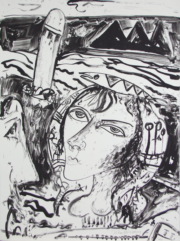 John Bellany - Call of the Sea No.12