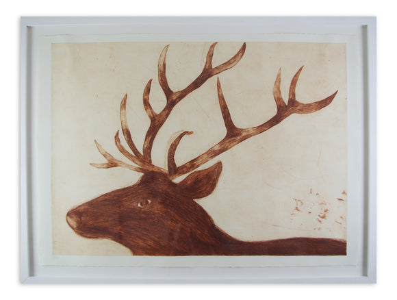 Kate Boxer - Stag (Framed)