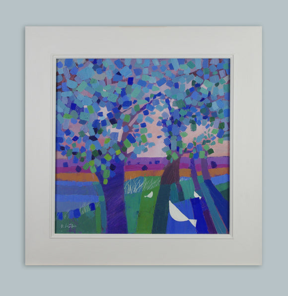 Giuliana Lazzerini - Under the Trees (Framed)