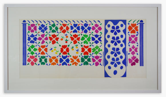 Henri Matisse - Decoration Fruits (Framed)